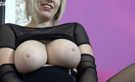 super-steamy blondy german milf