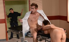 OMG!! Latina Hooker Seduces Doctor in Ordinary!!