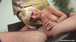 My Friend's Hot Mom Swallows My Large Risen Dick