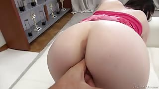 19-Year Old Chick First Time On Sexy Casting - Teen Anal