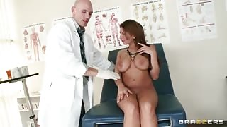 Hot MILF Makes this Doctor So Horny and Unprofessional!