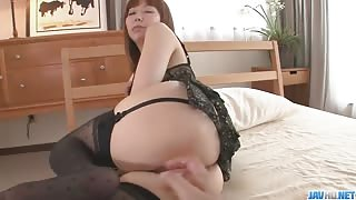 Cute Japanese Teen POV Fucked with Huge Creampie