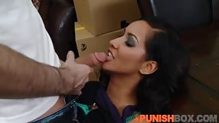 Hot Cheating Slut Isis Getting Punished Hard for Being a Whore