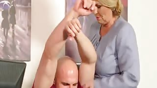 An Experienced Mature Lady Gives Young Man a Fuck of his Life