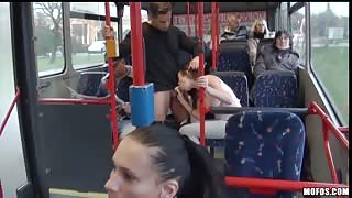 Having Sex in the Public Bus is Something That is not Strange for This Crazy Couple