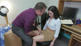 Shy Whitney Wright Tricked Into Dirty Things