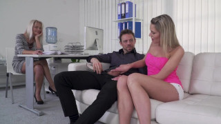 Sultry Babe Kathy Anderson Feeling Good About Threesome Sex