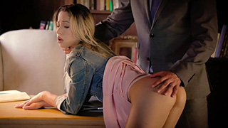 American College Student Getting First Anal Lesson from her Dirty Teacher