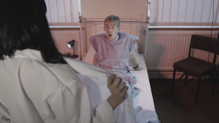 Sex Addicted Nurse Shows Her Tempting Body Under Medical Uniform To A Patient