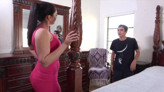 Hot Looking Aunt Gives A Special Birthday Surprise